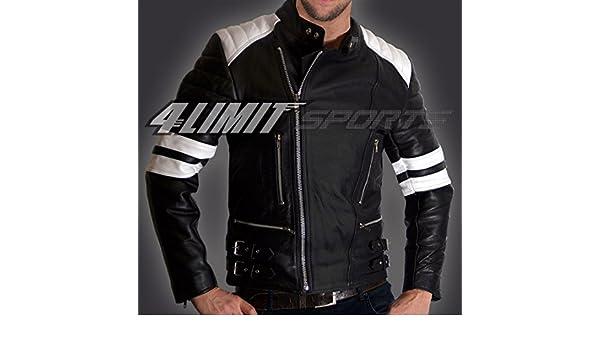 4 Limit Sports Moto Chaqueta > > 80s < < Retro Oldschool ...