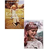 : Educated Tara Westover and Education of an Idealist [Hardcover] 2 Books Collection Set