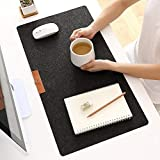 AMADE Mouse Pad Quality Comfortable Anti-fray Cloth Gaming Mouse Pad Waterproof Large Felt Pad Writing Gaming Desk Pads No Slip for Laptop - Computer &PC 25''13''0.16''