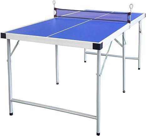 hlc Mesa de Ping Pong plegablede para niños 154 * 77 * 69 CM,Color ...