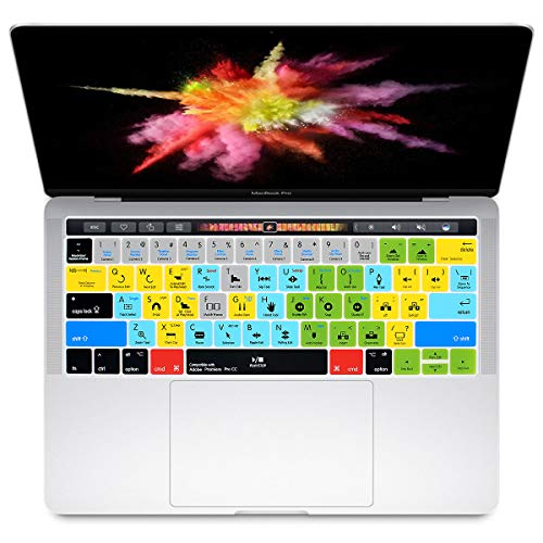HRH Adobe Premiere Pro CC Shortcuts Hotkey Silicone Keyboard