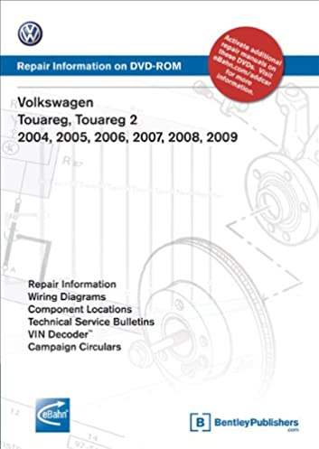 volkswagen touareg, touareg 2 2004, 2005, 2006, 2007, 2008, 2009volkswagen touareg, touareg 2 2004, 2005, 2006, 2007, 2008, 2009 repair manual on dvd rom volkswagen of america 9780837612690 books amazon ca