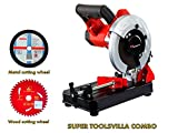 KPT Cutting Machine Combo With 7' Blades For Wood And Metal Cutting From Toolsvilla
