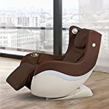 Galaxy Crown Small Compact Massage Chair (Brown)