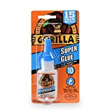 Gorilla Super Glue 15 Gram, Clear: more info