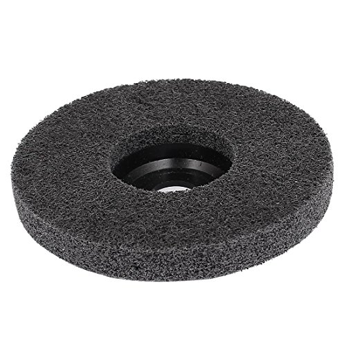 eDealMax 100mmx16mmx12mm Nylon muela abrasiva de pulido Negro Para amoladora Angular