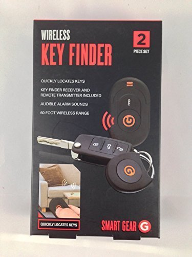 Amazon.com : Wireless Key Finder - 2 Piece Set by Smart Gear ...