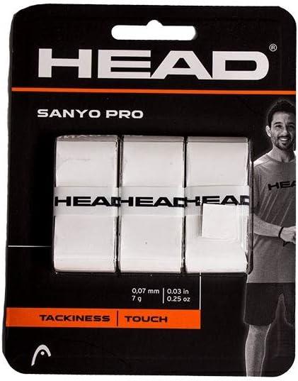 Head OVERGRIP SANYO Pro Blanco: Amazon.es: Deportes y aire libre