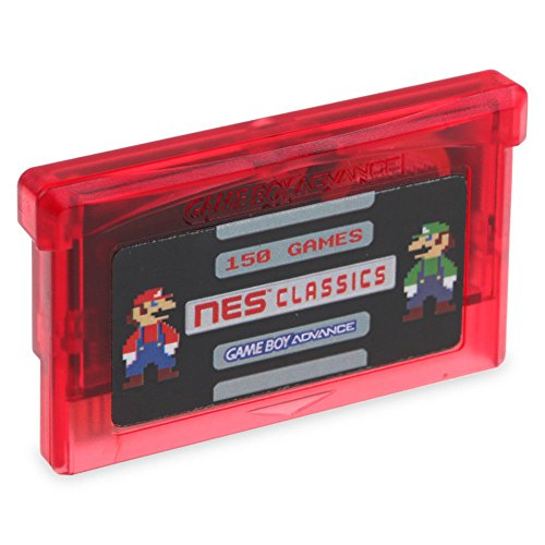 Hip Hop Electronics 150 in 1 NES Retro Game Boy Classics Video Games Cartridge (Best Gameboy Classic Games)