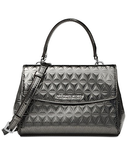 Michael Kors Gunmetal Handbag - 4