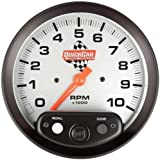 QuickCar Racing Products 611-6001 5'' Diameter Tachometer Gauge