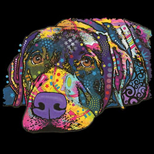 Pop Art Canvas ::: Savvy Labrador ::: Borsa Upbeat Con Motivo Cane Stile Arte