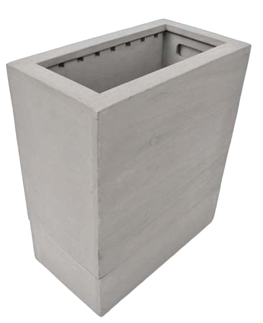 pf-026-a ONE-SIZE(33.0x18.0x38.0) GREY-WASH (ヨンユー)4u 木製ごみばこ ごみ箱 ゴミ箱 カバー ダストボックス 天然木 おしゃれ キッチン リビング ダイニング トラッシュポット トラッシュカン pf-026 B01G5HFG64 ONE-SIZE(33.0x18.0x38.0)|GREY-WASH GREY-WASH ONE-SIZE(33.0x18.0x38.0)