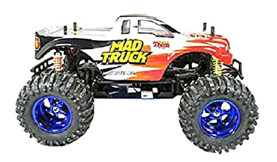 Azimporter Preschool Children Activity Playset 1:10 RC Electric 4WD Mad Truck Red