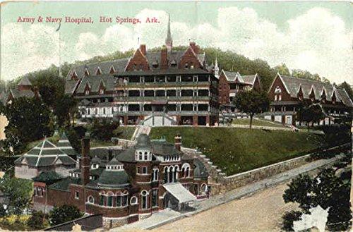 - Army and Navy Hospital Hot Springs, Arkansas Original Vintage Postcard