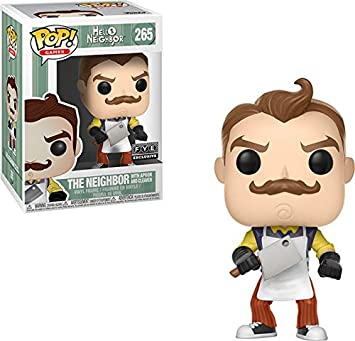 Funko POP Games: Hello Neighbor – The Neighbor with Apron and Cleaver – FYE  Exclusive