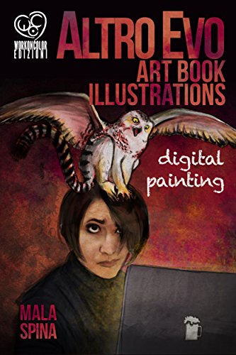 Altro Evo Art Book Illustrations: Digital Painting: Sword - Science Fiction Books For Teens