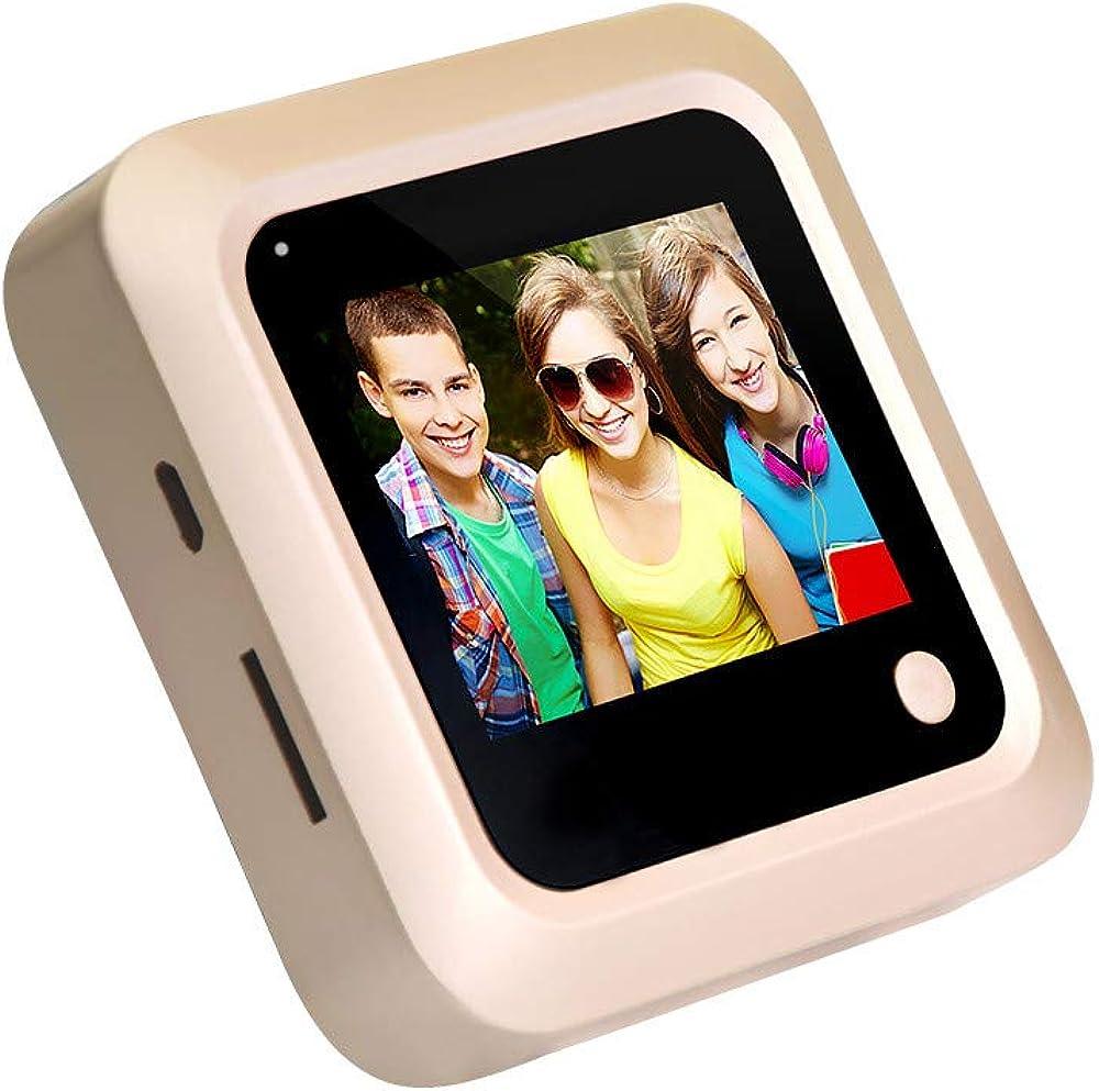 Tharv❤X5 2.4 inch Color Screen HD Door Camera 145 /° Screen Viewer Gold