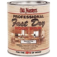 Old Masters 161673 60804 Fast Dry Wood Stain, Dark Mahogany, 1 quart by Old Masters