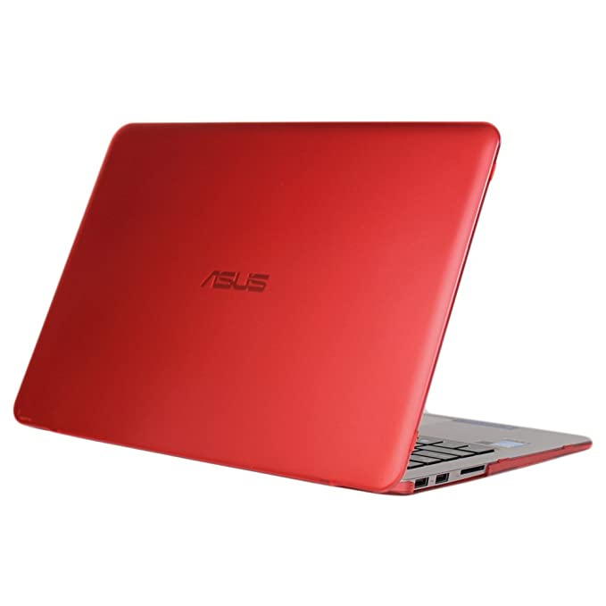 mCover Hard Shell Case for 13.3-inch ASUS ZENBOOK UX330UA Series (NOT Fitting UX305 Series) Laptop (Red)