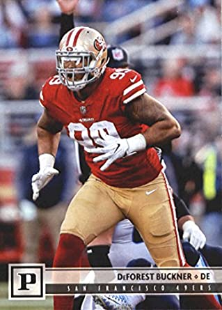 080b9619a39 2018 Panini NFL Football  262 DeForest Buckner San Francisco 49ers Official  Trading Card
