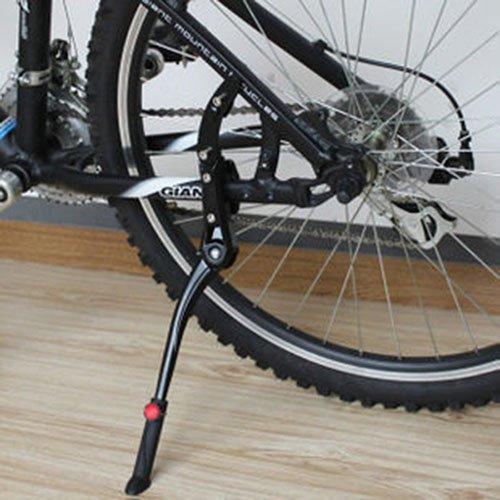 tmery調節可能サイクリングSide Road交換用キックスタンド(ブラック) B0756V3K7Y