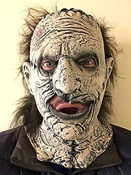 Sierra eléctrica ASESINO Látex Máscara Cuero Halloween Terror texax Disfraz