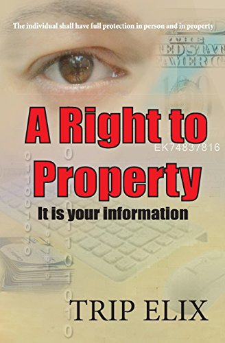 A Right To Property: Its Your Information