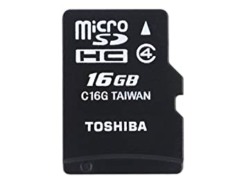 Toshiba High Speed M102 16GB Memoria Flash MicroSDHC Clase 4 ...