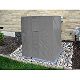 KHOMO GEAR - Air Conditioner Cover Square - AC Outdoor Protector - Titan Series - Grey