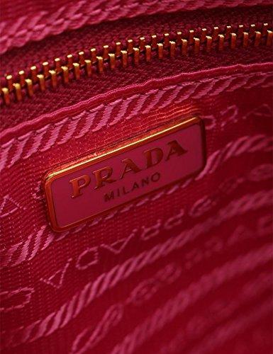 caaefa43f451 Amazon   [プラダ]PRADA ショルダーバッグ ポシェット BT0832 サフィアーノ エナメルレザー ピンク系 中古   PRADA(プラダ)    ショルダーバッグ