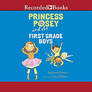 Princess Posey and the First-Grade Boys Audiobook