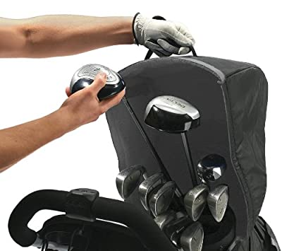 Rain Tek Golf Bag and Club Rain Protection Cover for Two, Three, Four Wheel, and Electric Carts
