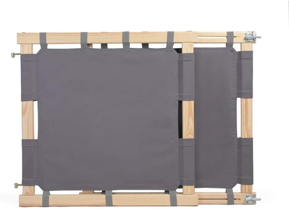 Escalier de s/écurit/é pour enfants avec un tissu en coton 100/% ECO MAMOI Barri/ère de s/écurit/é pour enfants sans plastique Barri/ère de s/écurit/é pour escalier - beige Fabriqu/é dans lUE
