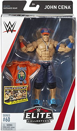 WWE Elite Collection Series # 60 John Cena Action (Collectible Wrestling Figure)