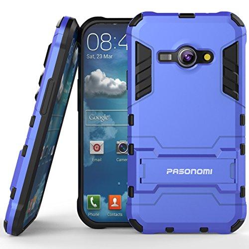 galaxy ace case blue - 2