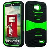 U/C sBLACK/Green Phone Case Cover for LG Optimus L90 / D410 D405 D405N D415