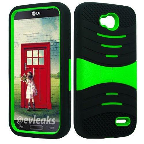 U/C sBLACK/Green Phone Case Cover for LG Optimus L90 / D410 D405 D405N - Case L90 Lg For A