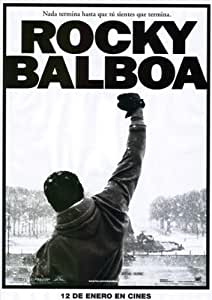 Rocky Balboa Poster (27 x 40 Inches - 69cm x 102cm) (2006) Spanish Style B