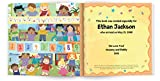 The Very Important Preschooler Personalized Name Childrens Book: I See Me!