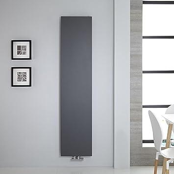 Hudson Reed Heizkörper Rubi - Vertikale Design-Heizwand aus Stahl in ...
