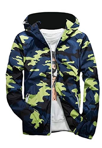 Runnung Bomber Coat Luxury XINHEO Jacket Mens Camouflage Zipper Hoodie Yellow Activewear UUfOq