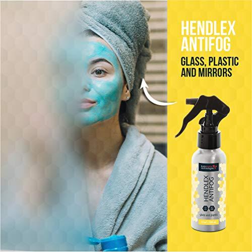 Hendlex Fogless Shower Mirror Spray -