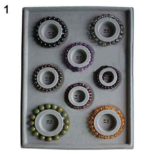 (Bead Board Bracelet Beading Tray Necklace Design DIY Craft Jewelry Meter Panel - for Bracelet liyhh)