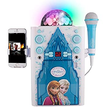 frozen karaoke machine user manual