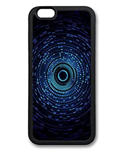 Abstract Blue Space Orb Protective TPU Back Fits Cover Case for iphone 6 4.7 -1122063