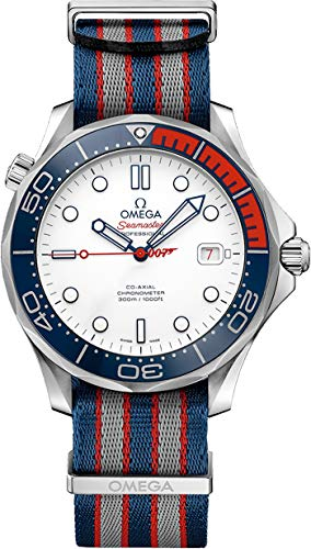 (Omega Seamaster Commander's Watch, James Bond 007 Limited Edition 212.32.41.20.04.001)