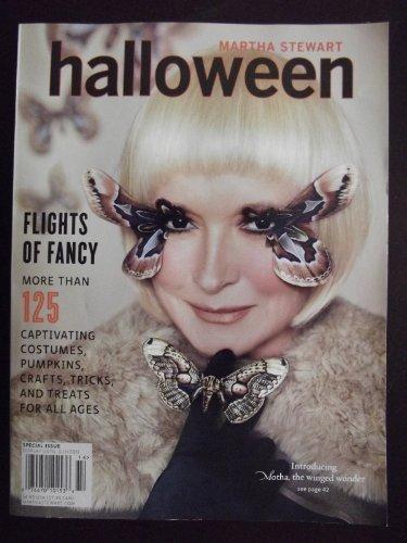 (Martha Stewart Halloween Special Issue Magazine)
