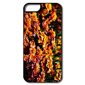 IPhone 5/5S Covers, Flowers White/black Case For IPhone 5S