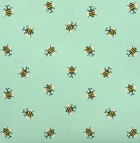 Bumble Bee Spring Themed Rolled Gift Wrap Paper - 24